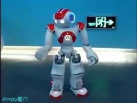 厦门无线城市体验厅:MJ舞步机器人