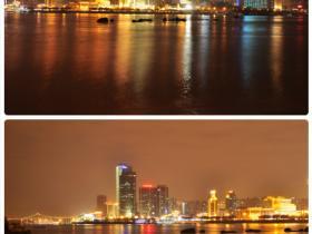 从鼓浪屿看厦门夜景·真的很美