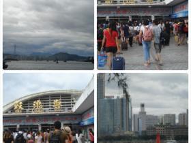 厦鼓航线恢复通航:再见台风