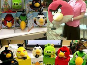 麦当劳愤怒的小鸟愤怒来袭!好萌