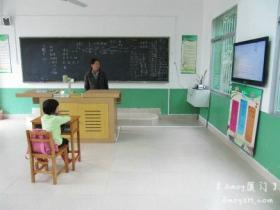 厦门最小的学校:一学校一老师一学生