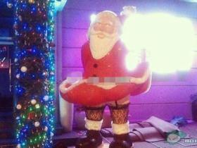 丝袜诱惑:厦门惊现性感圣诞老人