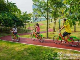 厦门首个公共自行车系统海沧投用 1小时内免费