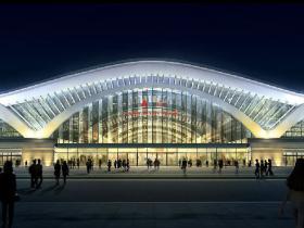 厦门火车站一期预计明年1月完工  效果图曝光