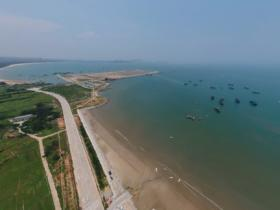 比攻略更直接:惠安小岞360度全景航拍