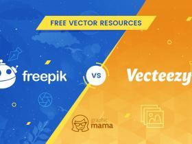 Freepik vs Vecteezy:无版权可商用矢量图素材选择哪一个?