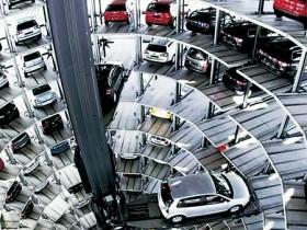 厦门智能停车楼·自动将车辆传输到空位