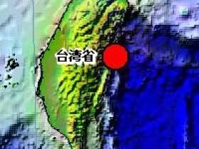 台湾花莲昨晚连续发生27次地震
