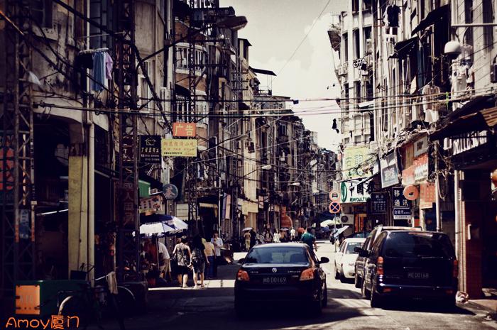 厦门的街,南国的海
