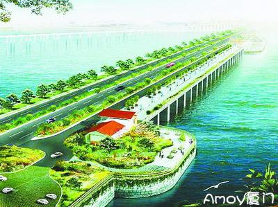 厦门将建高集海堤纪念公园