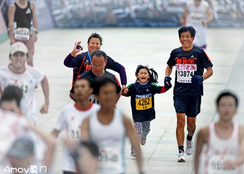 2012年厦门马拉松·部分获奖作品欣赏(图)
