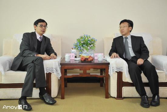 新加坡总领事称自己是厦门人