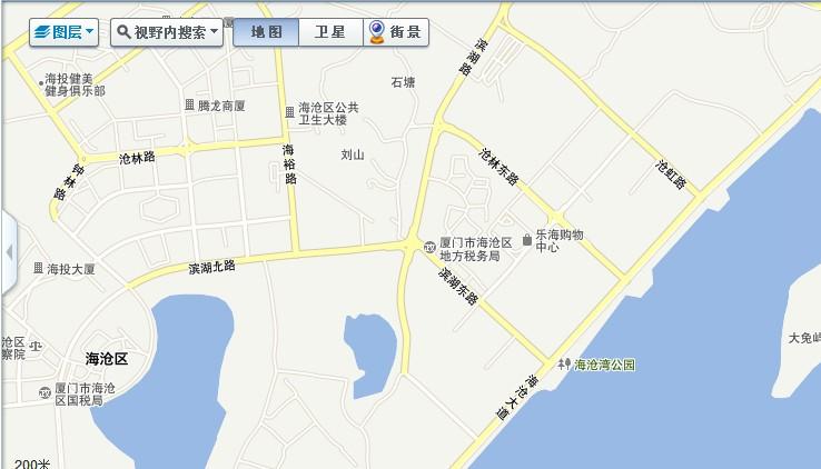 SOSO厦门街景地图·真实立体地图