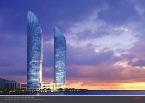 厦门第一高楼·世茂海峡大厦