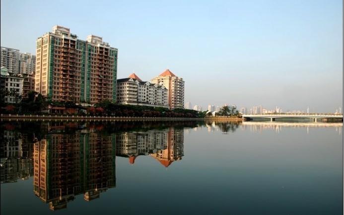 厦门筼筜湖,清晨的美景