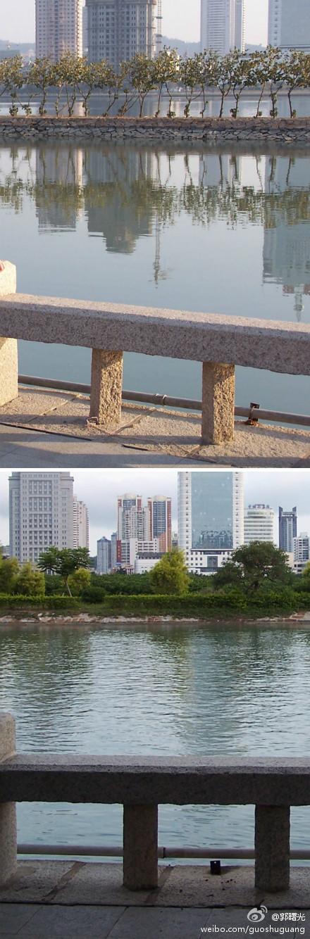 时隔八年·厦门筼筜湖的变化