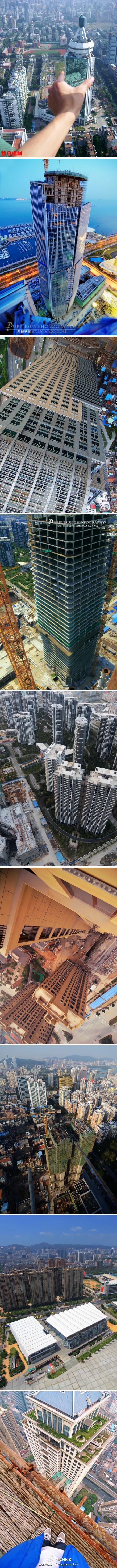 超高空鸟瞰厦门建筑·超震撼的视觉体验