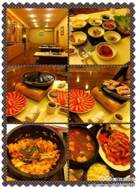 厦门最正宗的韩国料理·汉阳馆
