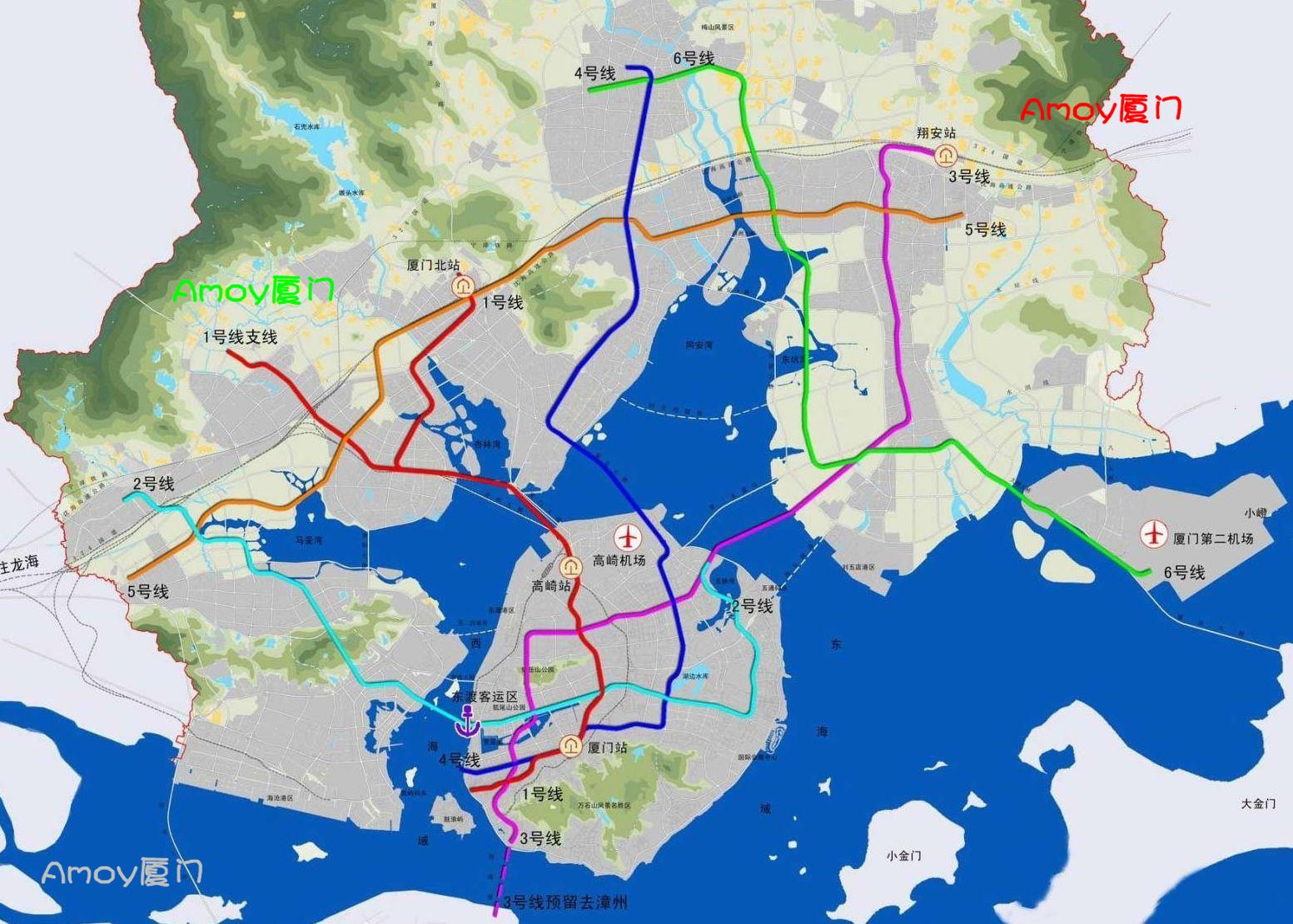 厦门地铁今年年底开建(厦门地铁规划图)