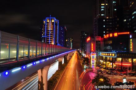 厦门夜色·美轮美奂 BRT摄影 Amoy厦门 1
