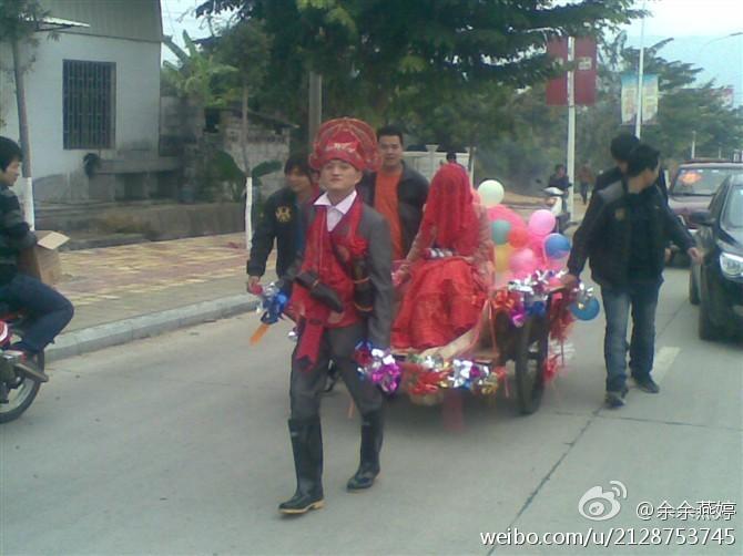 翔安街头个性婚礼:看完我凌乱了