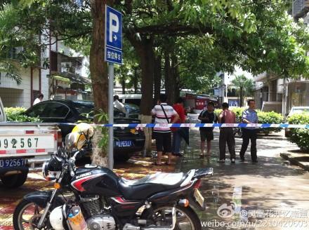 集美学村:私家车被安装炸弹并勒索