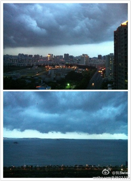 突如其来大暴雨,老天爷爆发了