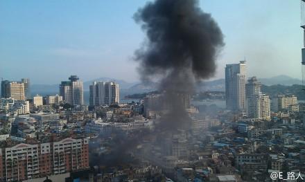快讯:中山路发生爆炸,附近停电