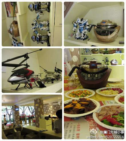 厦门江头机器人DIY主题餐厅
