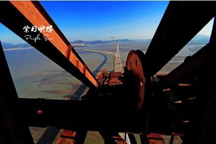 厦漳大桥合龙:227米高的索塔顶端一睹厦门湾雄姿