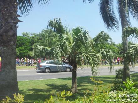 和谐散步:厦门反日游行人数已达数万人