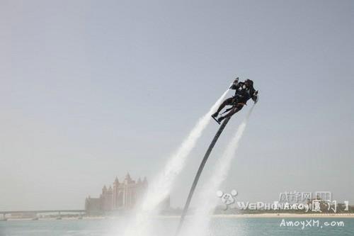 超酷:超强水上飞行器将亮相厦门