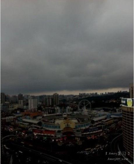 莆田连发两次地震,厦门连续5天迷雾不见天日