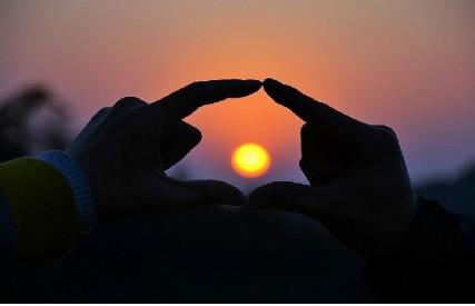 实拍厦门最美日出日落