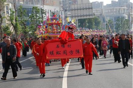 三年一次:海沧石塘村烧王船祈福