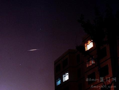 """不看流量看卫星:厦门今晚可观测到""""铱星""""闪光"""