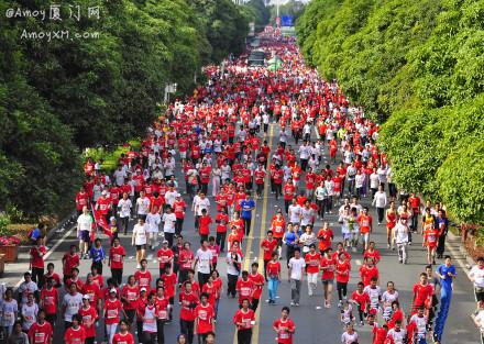2013厦门国际马拉松赛:现场照片集