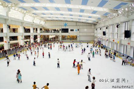 3月8日中华城真冰滑冰场 十八岁以上女性免费