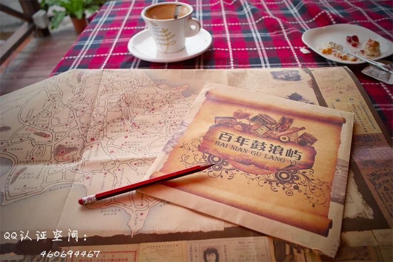 鼓浪屿地图,鼓浪屿攻略,鼓浪屿手绘地图,鼓浪屿