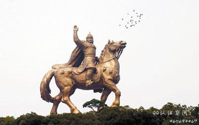 马到成功:泉州郑成功骑马雕像