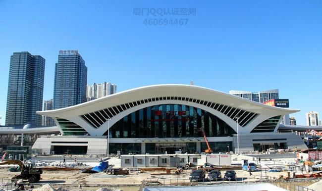 厦门火车站明天启用 新旧火车站对比