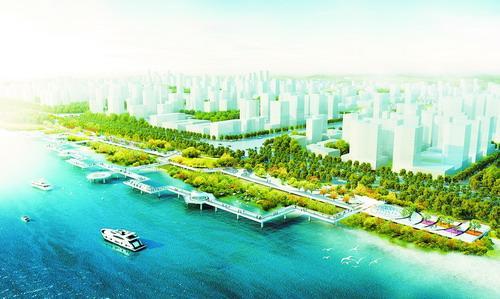 海沧湾海上观景台拟2017年初开放 总长2.4公里