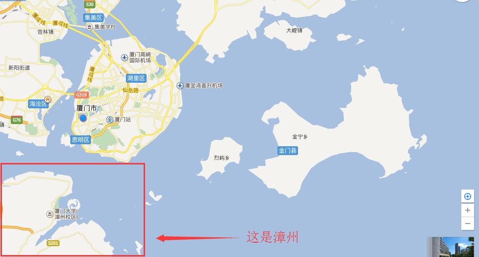 厦门海的对面是台湾吗?是的,有台湾,也有漳州!