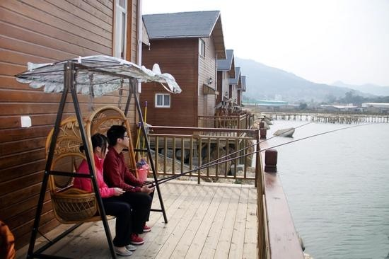 海沧咸水湾渔家乐:建在海上的农家乐